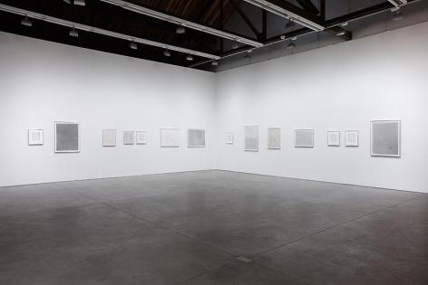 David Musgrave Installation view