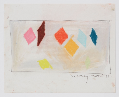 Jeremy Moon, Drawing [71], 1971