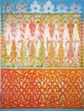 Philip Taaffe Old Cairo, 1989