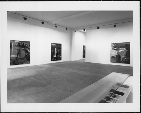 Albert Oehlen, Installation view