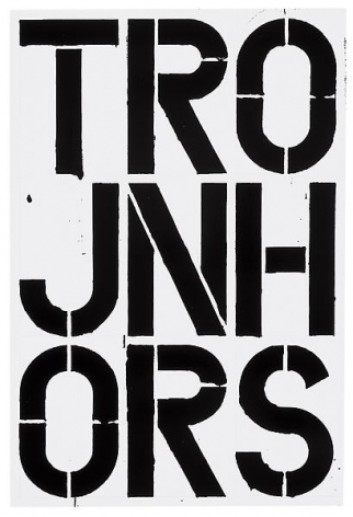 Christopher Wool Untitled,1988
