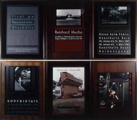 Reinhard Mucha BBK-SL-KNY-Edition, 1990 / 1999