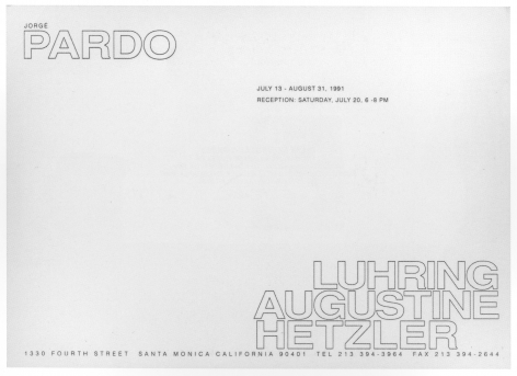 Announcement card