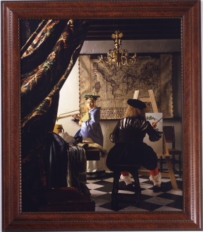 Yasumasa Morimura Vermeer Study (A Great Story out of the Corner of a Small Room), 2004