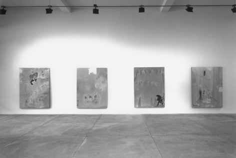 Michael Byron, Installation view
