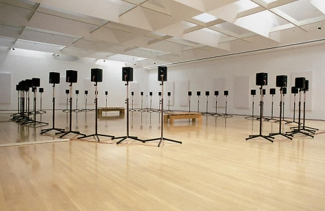 "Janet Cardiff The Forty Part Motet (A reworking of ""Spem in Alium"" by Thomas Tallis 1556), 2001"