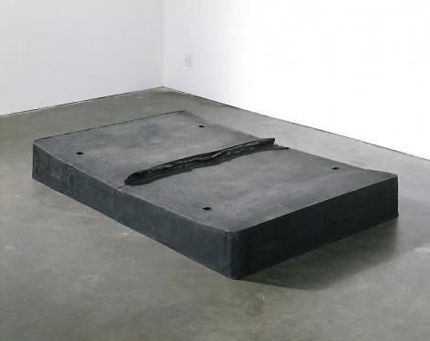 Rachel Whiteread Untitled (Black Bed), 1991