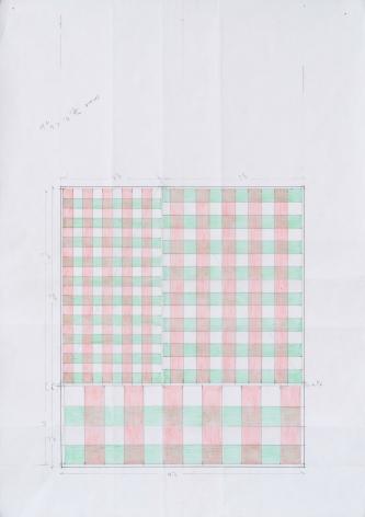 Richard Rezac Pattern Study for Chigi, Pamphili, 2019