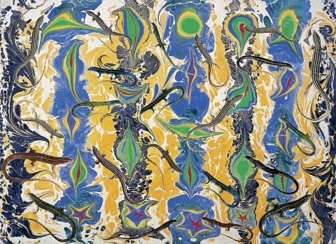 Philip Taaffe Lizard Music, 2002