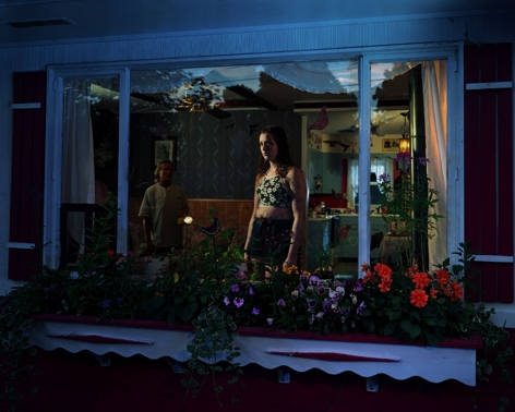 Gregory Crewdson Untitled (girl in window), 1999