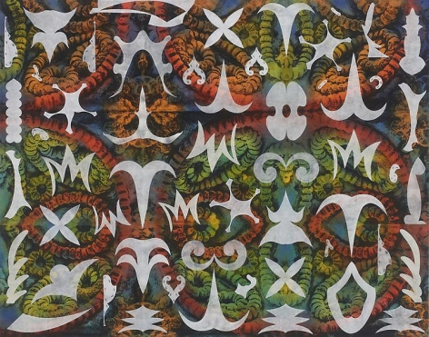 Philip Taaffe Earth Star I, 2013