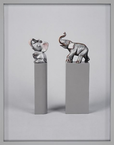 Elad Lassry Two Elephants, 2010