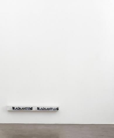 Glenn Ligon, One Live and Die, 2006