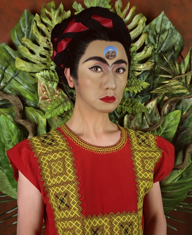 Yasumasa Morimura, An Inner Dialogue with Frida Kahlo (Skull Ring), 2001