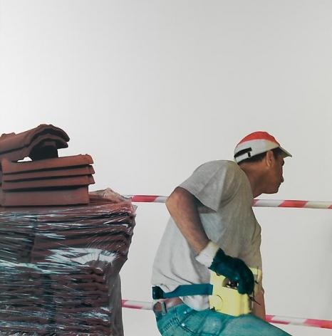Michelangelo Pistoletto Lavoro – Muratore, 2008-2011