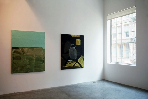 Michael Krebber, Installation view
