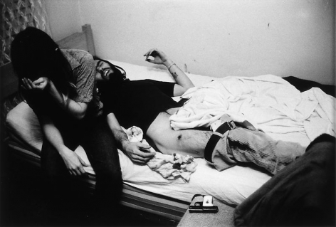 Larry Clark Accidental Gunshot Wound, 1971