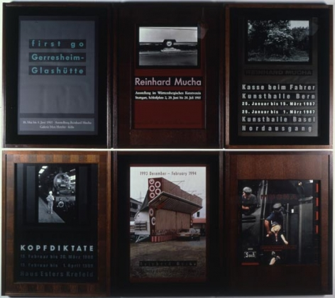 Reinhard Mucha BBK SL KNY Edition (BK=Bern/Basel Kunsthalle; SL=Stuttgart/London; KNY=Koln/New York), 1990-99