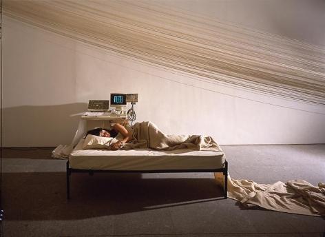 Janine Antoni Slumber, 1993