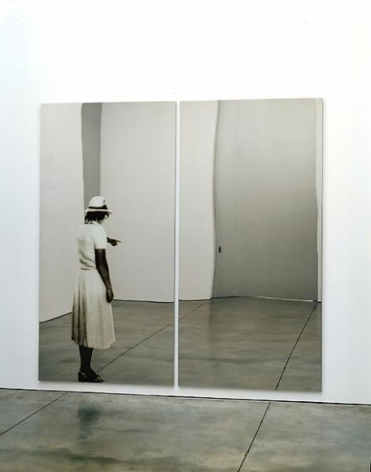 Michelangelo Pistoletto Donna che indica (Woman who points), 1982