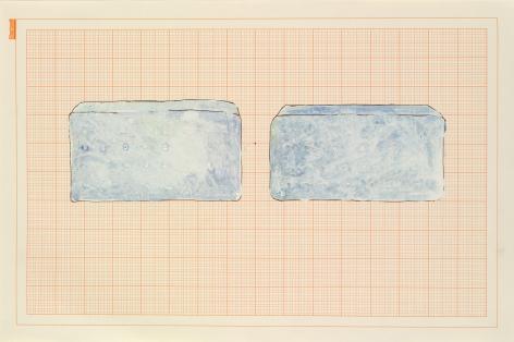 Rachel Whiteread, Blue Beds, 1992