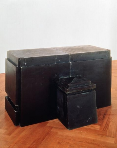 Rachel Whiteread Table and Chair (Green), 1994