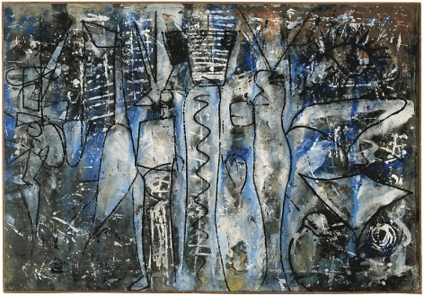 Richard Pousette-Dart Angel Forms, 1952/1953