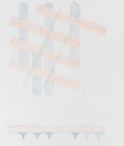 Richard Rezac Study for Untitled (19-03), 2019