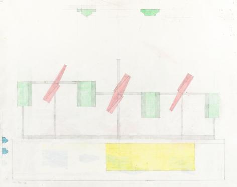 Richard Rezac, Study for Untitled (14-04), 2014