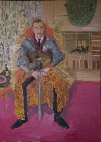 Ragnar Kjartansson, A Russian Diplomat Posing as Prince Igor,2014