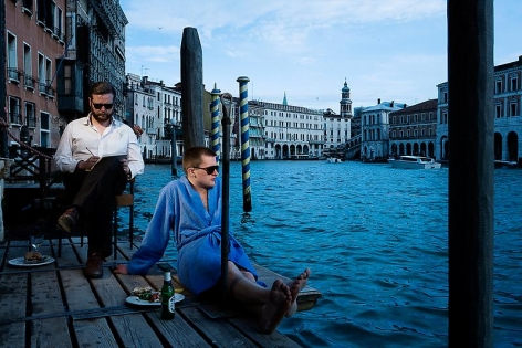 "Ragnar Kjartansson The End â€"" Venezia, 2009"