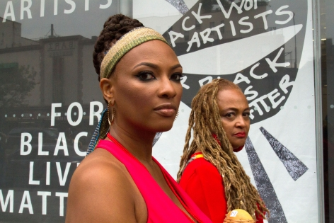 Black Women Artists for Black Lives Matter, Documentation from September 1, 2016 event at New Museum, New York, NY