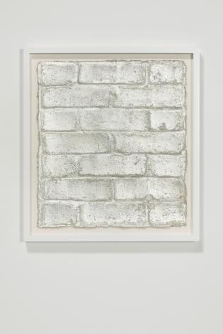 Rachel Whiteread, Untitled (Silver Leaf), 2015
