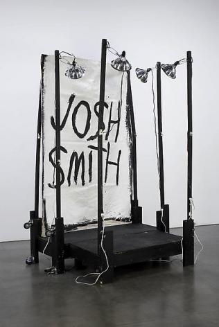 Josh Smith Stage Painting 5, 2011