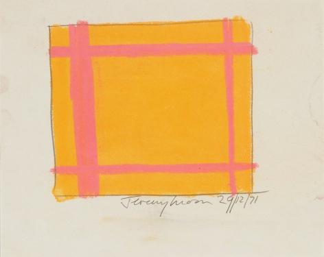 Jeremy Moon, Drawing [29/12/71], 1971