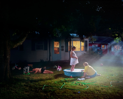 Gregory Crewdson Untitled (pregnant woman/pool), 1999