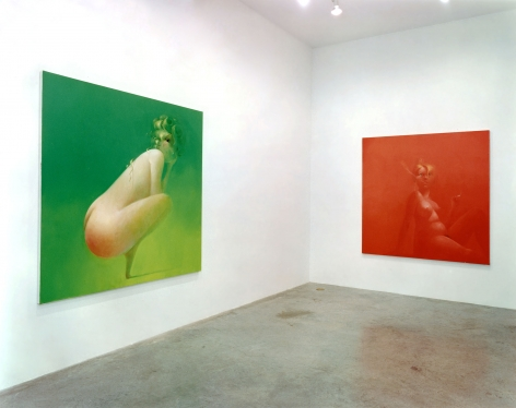 Lisa Yuskavage, Installation view