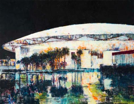 Enoc Perez Louvre Abu Dhabi, 2017