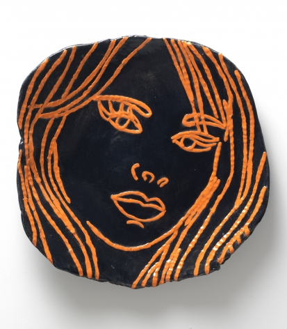 Portrait of a Lady in Orange, 2014, Ceramic