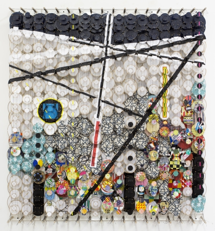 Jacob Hashimoto Impossible Barriers to the Cosmos, Logical and Absolute, 2016