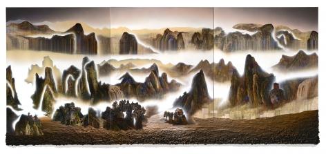 Gordon Cheung A Thousand Plateaus, 2016