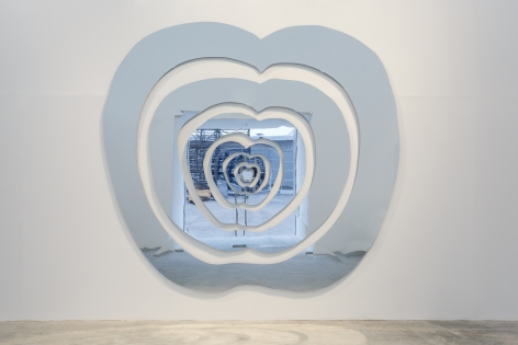 The Apple of Concord, 2007, Plexiglass