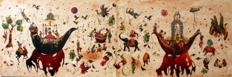 SHIVA AHMADI, Bull Nuke, 2011