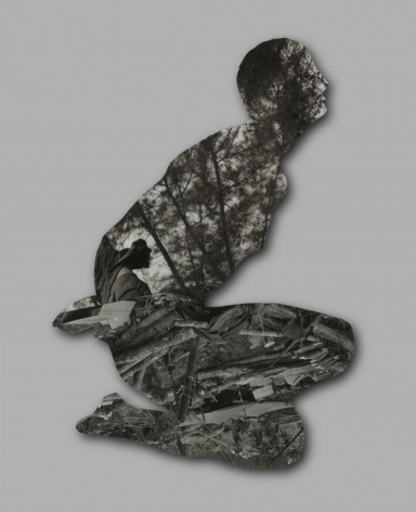 REZA ARAMESH, Action 143/013-collage, 2015
