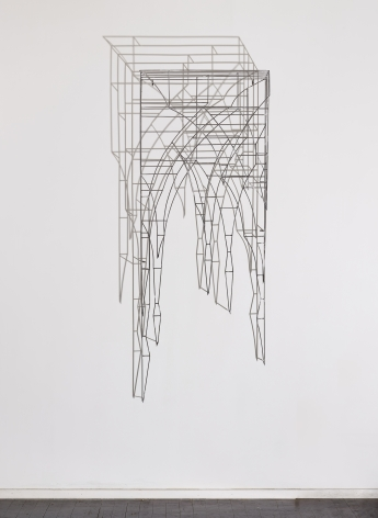 Lamentation, 2016, Steel, light