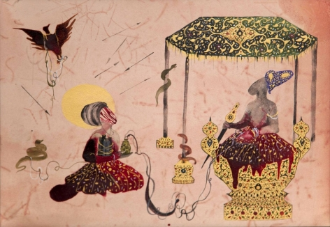 SHIVA AHMADI, Untitled 1 (from Throne), 2013