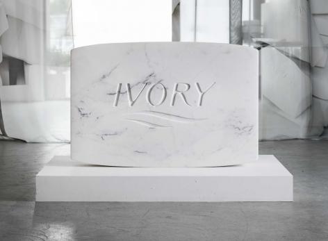 PURE Marble Jumbo, 2018, Carrara marble