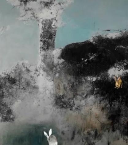 FARIDEH LASHAI, Prelude to Alice in Wonderland(video still), 2010
