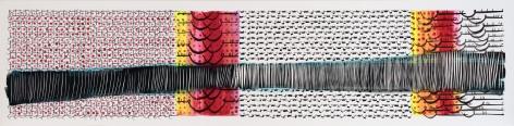 Hadieh Shafie, Grid Cut 7, 2015