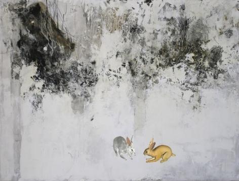 FARIDEH LASHAI, Prelude to Alice in Wonderland(video still), 2010-2012